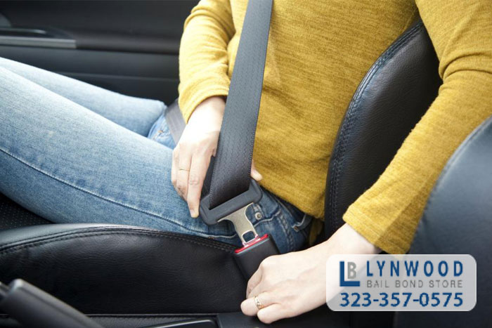lynwood bail bonds california seat belt laws