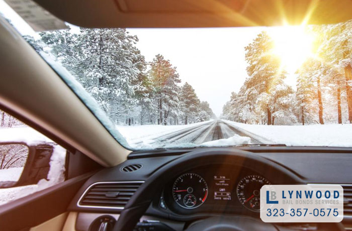 lynwood bail bonds winter weather driving tips